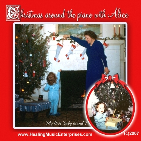 """Christmas Around the Piano with Alice"""